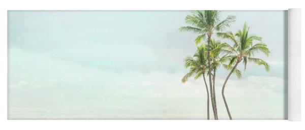 Palm Tree Cluster  Yoga Mat