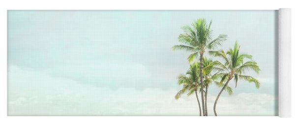 Palm Tree Cluster  Yoga Mat