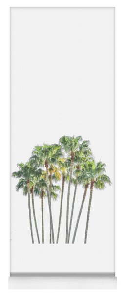 Palm Tree Grove Yoga Mat