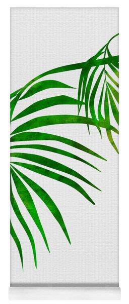 Palm Tree Leafs Yoga Mat