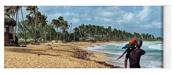 Palm Tree Paradise Yoga Mat