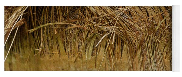 Palm Tree Straw 2 Yoga Mat
