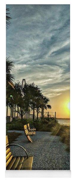 Palm Tree Sunset Yoga Mat