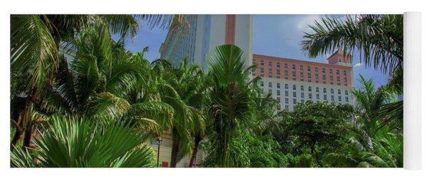 Palms At The Riu Cancun Yoga Mat