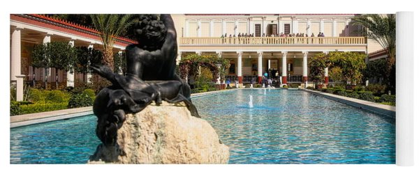 Pano View Getty Villa Awesome  Yoga Mat