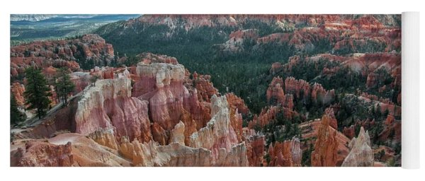 Panorama  From The Rim, Bryce Canyon  Yoga Mat