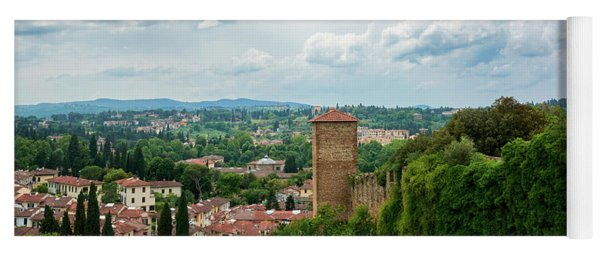 Florence From The Garden Of The Knight Yoga Mat