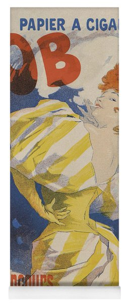 Papier A Cigarettes Job, Paris 1895 Yoga Mat