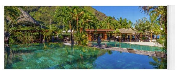 Paradise On Earth Mo'orea French Polynesia Yoga Mat