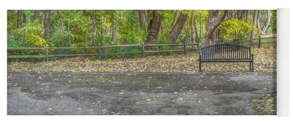 Park Bench @ Sharon Woods Yoga Mat