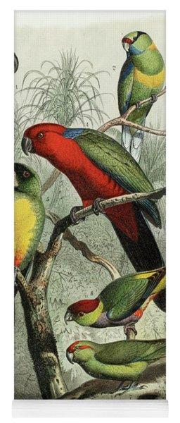 Parrots Yoga Mat