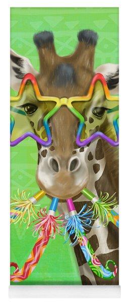 Party Safari Giraffe Yoga Mat
