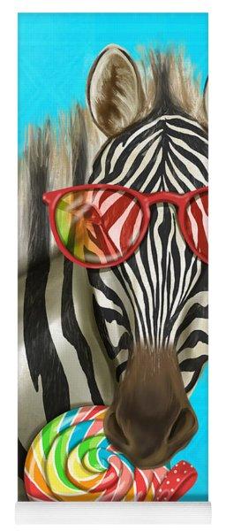 Party Safari Zebra Yoga Mat
