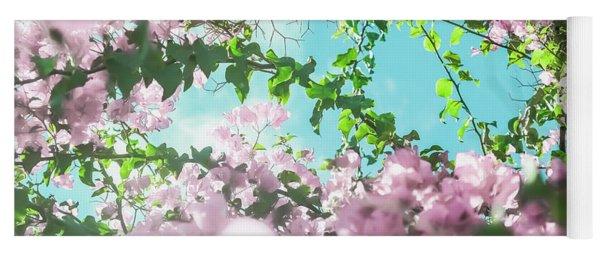 Floral Dreams II Yoga Mat