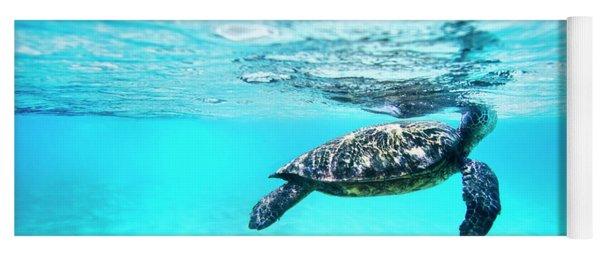 Pastel Turtle Yoga Mat