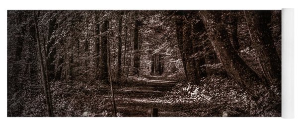 Path In Forest #i0 Yoga Mat