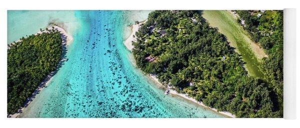 Bora Bora - Pathway To The Ocean Yoga Mat