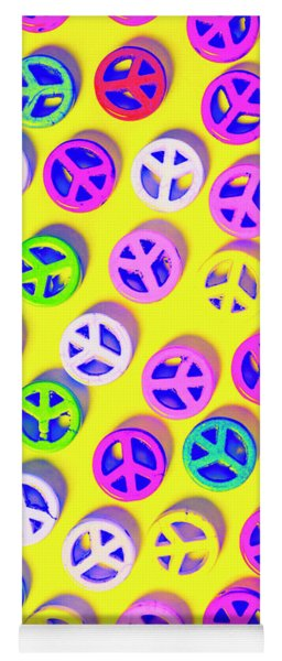 Patterning Peace Yoga Mat