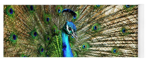 Peacock Full Bloom Yoga Mat