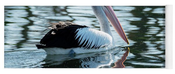Pelican On The Lake Yoga Mat