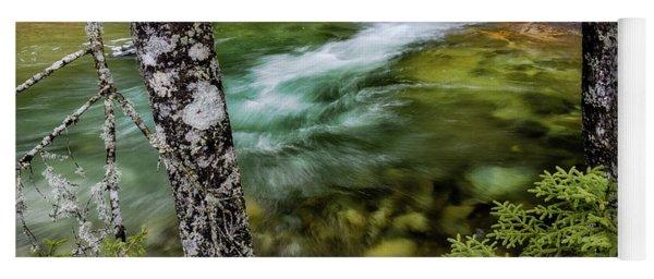 Pemigewasset River, Basin Trail Nh Yoga Mat