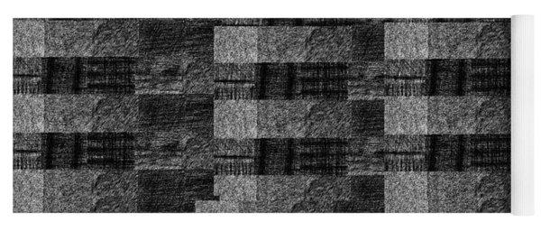 Pencil Scribble Texture 2 Yoga Mat