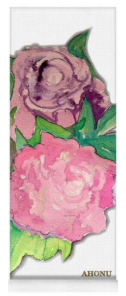 Peonie Roses Yoga Mat