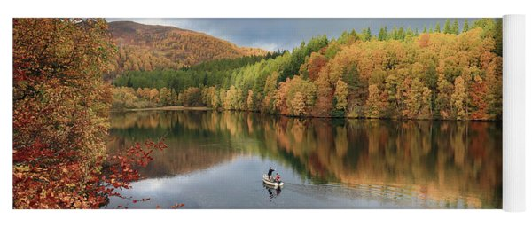 Perthshire Autumn Yoga Mat