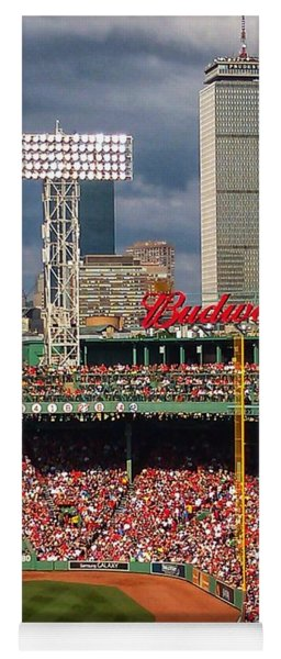 Peskys Pole At Fenway Park Yoga Mat