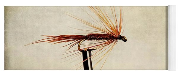 Pheasant Tail Dry Fly Yoga Mat