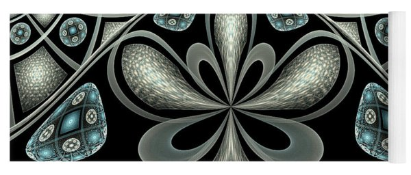 Yoga Mat featuring the digital art Philemon by Missy Gainer