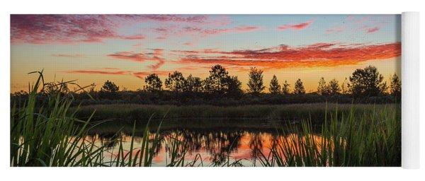 Phinizy Swamp Sunrise - Augusta Ga Yoga Mat