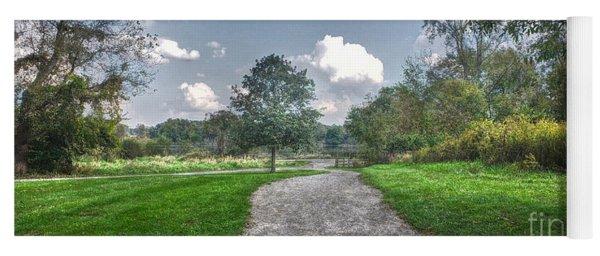 Pickerington Ponds Walkway Yoga Mat