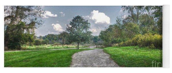Pickerington Ponds Walkway Yoga Mat