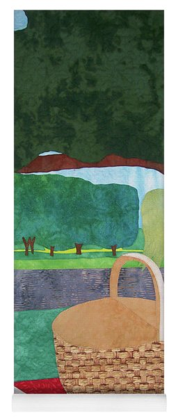 Picnic At Ellis Pond Yoga Mat