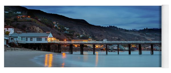 Pier House Malibu Yoga Mat