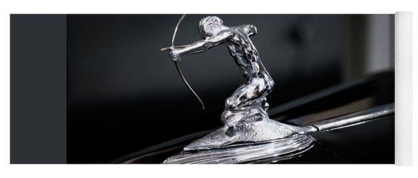 Pierce Arrow Classic Car Emblem Yoga Mat