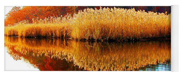 Piermont Autumn Backwater Yoga Mat
