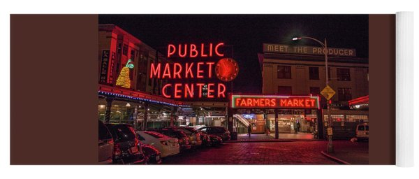Pike Place Market.1 Yoga Mat