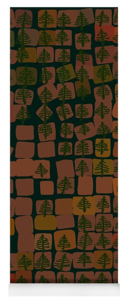 Pine Forest Yoga Mat