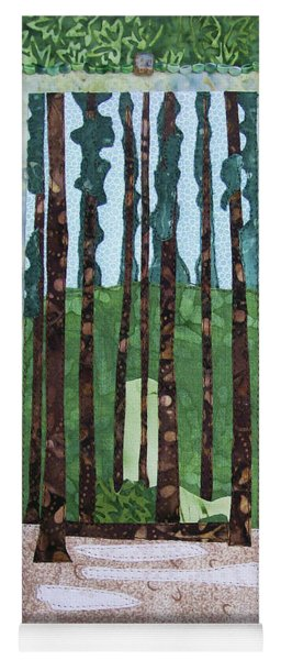 Pine Forest Tall Yoga Mat