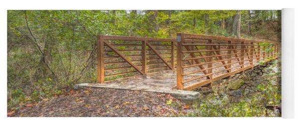 Pine Quarry Park Bridge Yoga Mat