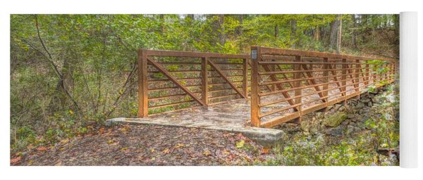 Pine Quarry Park Bridge Yoga Mat