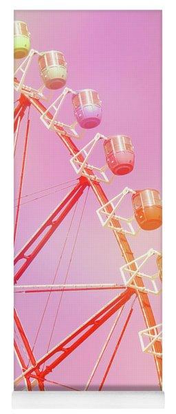 Pink Carnival Yoga Mat