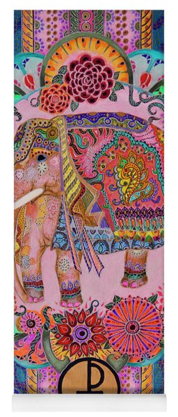Pink Elephant Yoga Mat