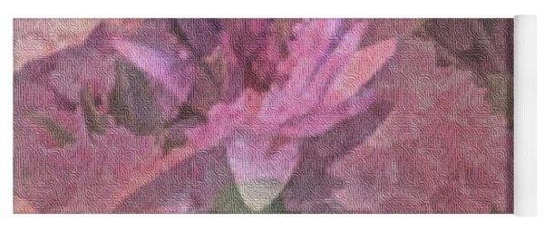 Pink Haze Yoga Mat