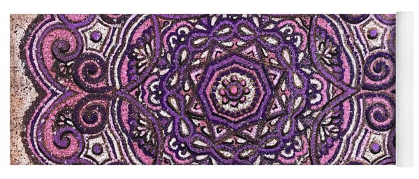 Pink Mandala Yoga Mat