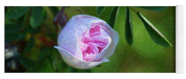 Pink Rose - Romantic Encounter - By Omaste Witkowski Yoga Mat