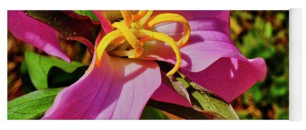 Pink Trillium Yoga Mat