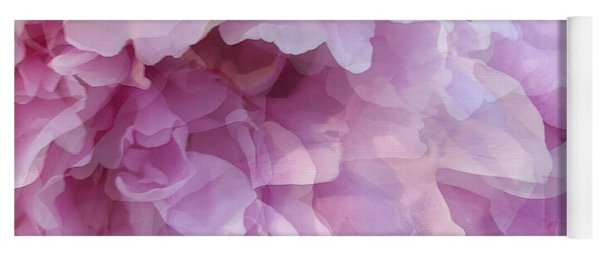 Yoga Mat featuring the digital art Pinkity by Cindy Greenstein